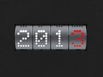 Räknare för nytt år 2013 Royaltyfri Fotografi