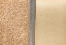 Räkning av den gammala boken, bakgrund Royaltyfri Foto