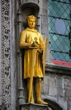 Räkning av Flanders Philip av Alsace, berömd korsfarare royaltyfri bild