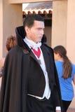 Räkning Dracula på universella studior Hollywood Arkivfoton