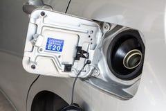 Räkning för bilbränslebehållare Royaltyfria Foton