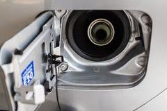 Räkning för bilbränslebehållare Arkivbild
