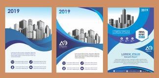 Räkning, orientering, broschyr, tidskrift, katalog, reklamblad för företag eller rapport royaltyfri illustrationer