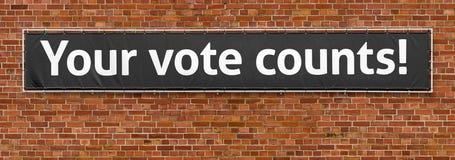 räkningar röstar ditt fotografering för bildbyråer