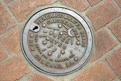 räkningsräkneverkNew Orleans vatten Arkivfoton