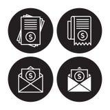 Räkningsymboler Fotografering för Bildbyråer