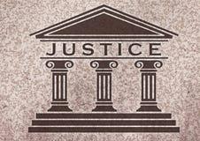 rättvisa stock illustrationer