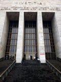 Rättvisa Palace, Milan arkivfoto