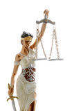 rättvisalady Arkivbild