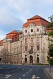 Rättvisan Palace av Bayreuth royaltyfri fotografi