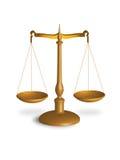 rättvisascale Royaltyfri Foto