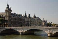 rättvisaslott paris Arkivbilder