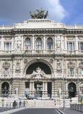 rättvisaslott rome royaltyfri foto