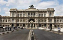 rättvisaslott rome Arkivfoton