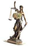 rättvisastaty Royaltyfri Foto