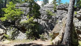 Räuber höhlen aus stockfotografie