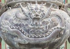 Räuchergefäß im chinesischen Tempel Lizenzfreies Stockfoto