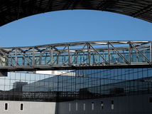 Räumliche Brücke lizenzfreie stockfotografie