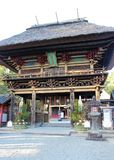 Rōmon gate of Aoi Aso Shrine stock photo
