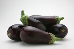 rå aubergine Royaltyfri Bild