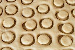 Rå bakelse för mini- paczki Royaltyfri Bild