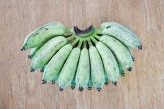 rå banan Royaltyfri Fotografi