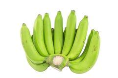 rå bananer arkivbild