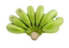 rå bananer Arkivbilder