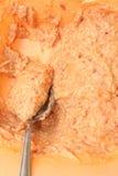 Rå blandning för framställning av köttbullar Royaltyfri Foto