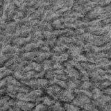Rå Closeup för makro för ull för Merinofår, stor detaljerad Grey Textured Pattern Copy Space bakgrund, Gray Texture Studio Shot arkivfoton