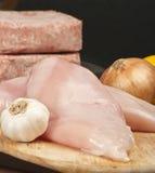 rå feg meat Royaltyfri Bild