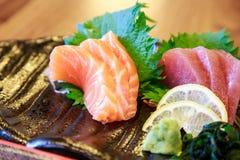 Rå fisk för sushi Royaltyfri Bild