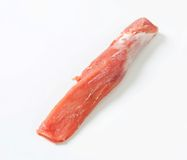 rå fläskkarré för pork Arkivbild