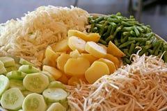 rå grönsaker royaltyfri fotografi