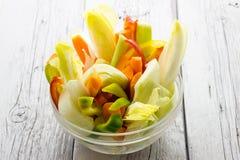 rå grönsaker Arkivbilder