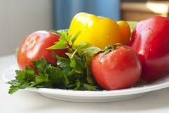 rå grönsaker Arkivfoton