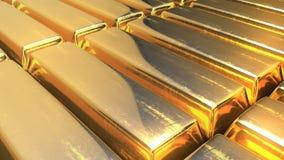 R? guld- st?nger Ultimat rikedombegrepp ?ndl?s loopable video stock video