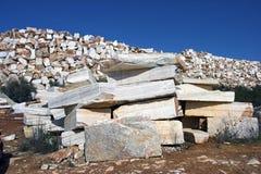 Rå marmor Fotografering för Bildbyråer