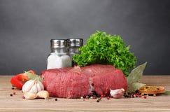 rå meat Royaltyfria Bilder