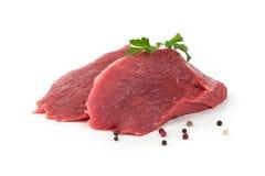 Rå meat arkivbilder