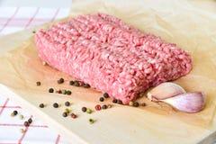rå meatpork Royaltyfri Fotografi