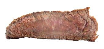 Rå nötköttbiff, ett stycke av kött som isoleras på vit bakgrund Royaltyfri Foto