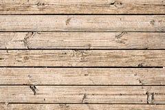 Rå naturlig träplanka Arkivbild