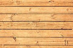 Rå naturlig träplanka Arkivfoto