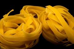 rå pasta Royaltyfria Bilder