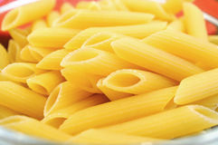rå pasta Royaltyfria Foton