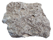 Rå porös isolerad basaltsten Arkivfoto