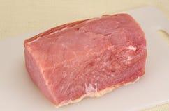 rå pork Arkivbild