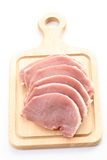 rå pork arkivbilder