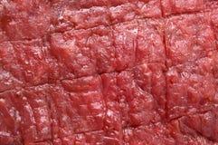 rå röd steak för nötkött Royaltyfria Bilder